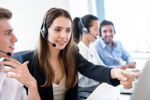 Call Center Manager training Call Center Agent